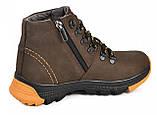 Ботинки подростковые из натуральной кожи от производителя модель МАК927, фото 2