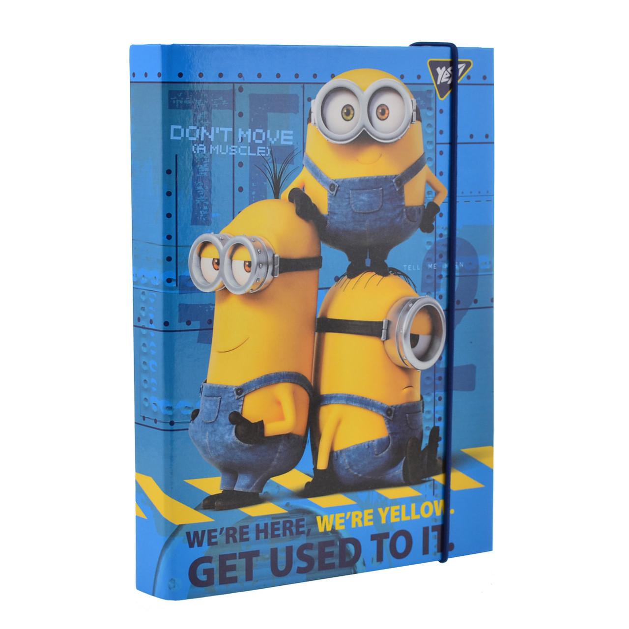 """Папка для тетрадей картонная В5 """"Minions"""""""