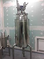Химический реактор с мешалкой и рубашкой