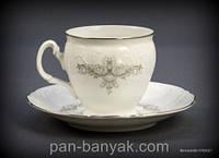 Bernadotte (Тонке мереживо) Набор кофейный на 6 персон 12 предметов 170мл d7 см h7 см фарфор Thun