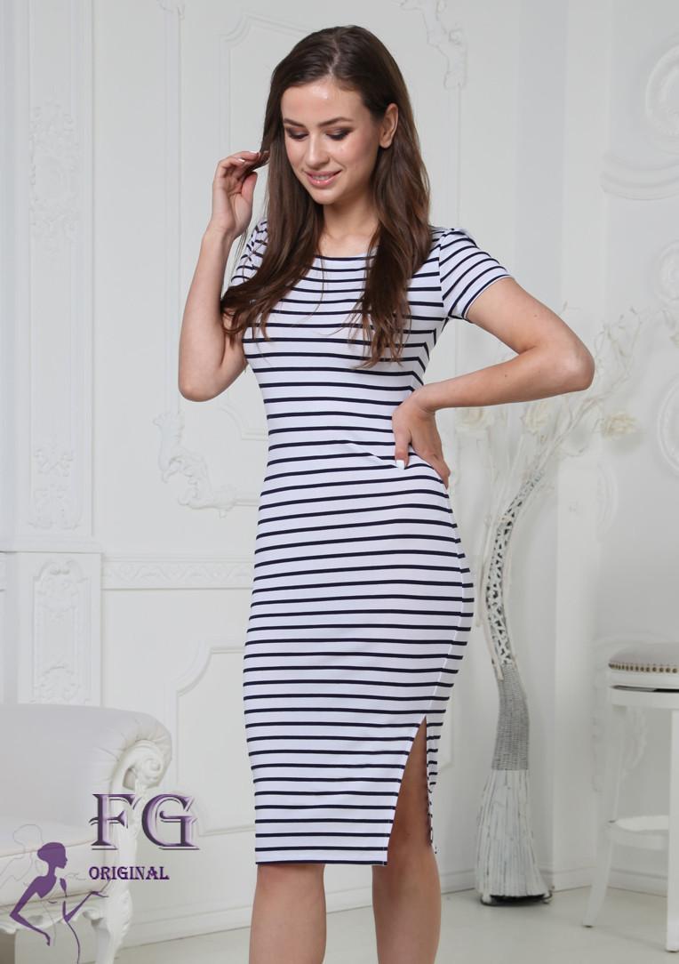 Платье в полоску Регина