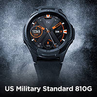 "Ticwatch S2 Sport Smartwatch Midnight Black 1.4 "" AMOLED Display, GPS, Android Wear 2.0, US Military 810G 50m, фото 1"