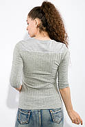 Джемпер женский 436V016-1 (Светло-серый), фото 4
