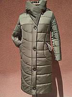 Модный длинный пуховик-одеяло Solo, фото 1