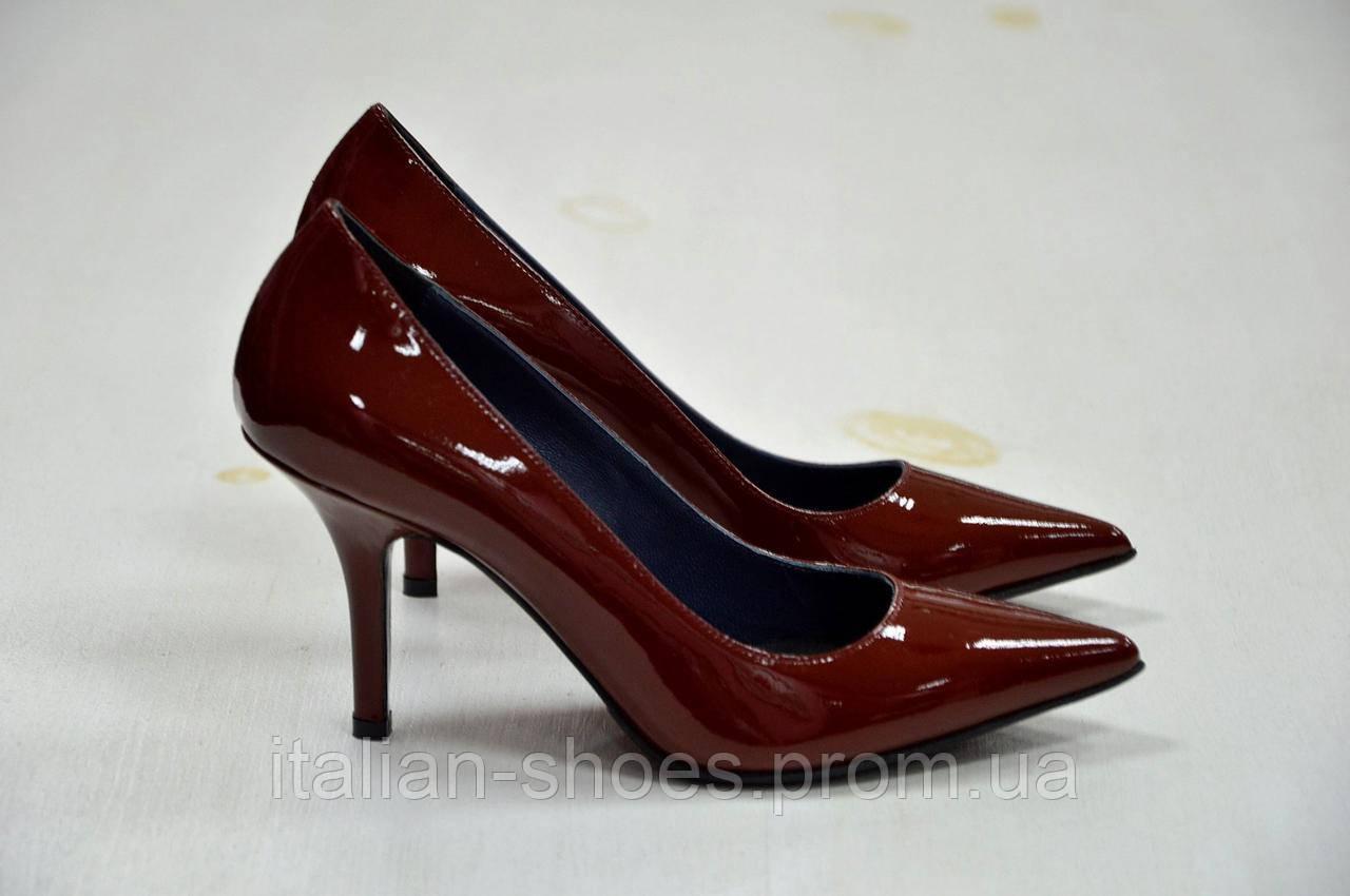 Женские итальянские туфли Marco
