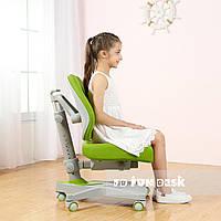 Детское ортопедическое компьютерное кресло ТМ FunDesk Contento Green Зеленый