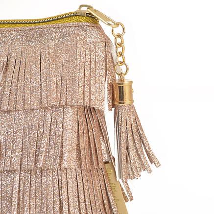 Пенал-косметичка YES  «Charm», золотая                                                    , фото 2