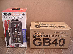 Пусковое устройство Noco Genius Boost Plus GB40 12V