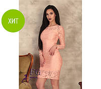 Модное гипюровое платье Люсия, фото 1