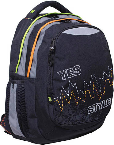 "Рюкзак подростковый YES  Т-22 ""Pulse"", 40*34*24см                                         , фото 2"