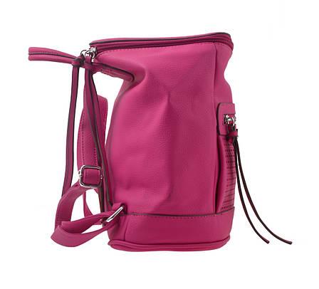 Сумка-рюкзак  YES, рожевий, 26*14*27см                                                    , фото 2