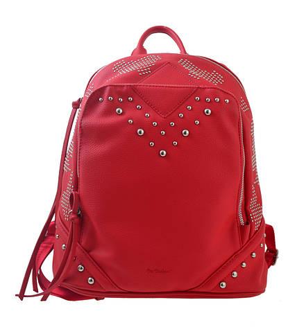 Сумка-рюкзак  YES, червоний, 29*14*33см                                                   , фото 2
