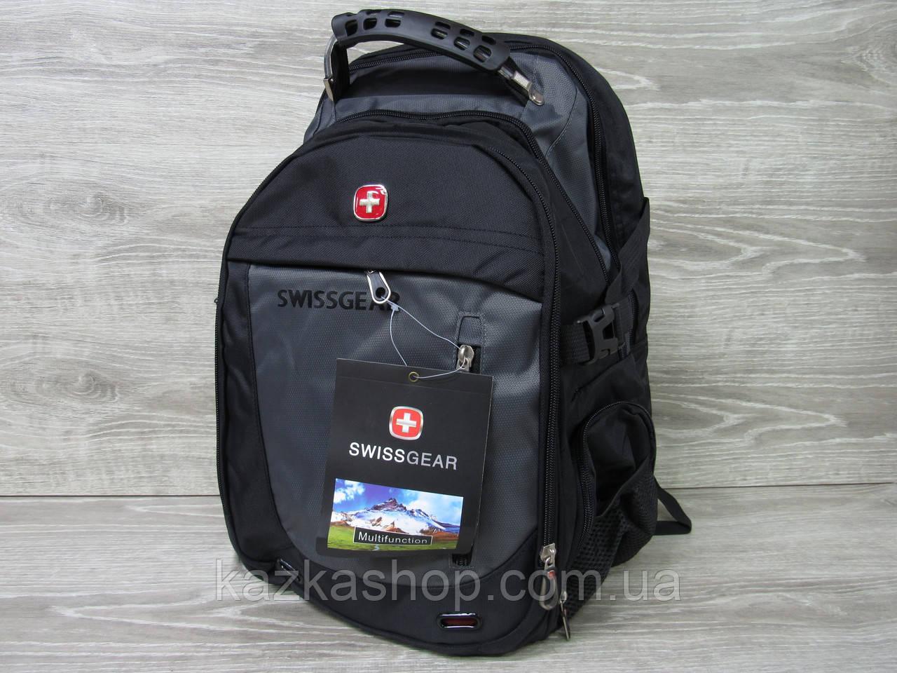 Спортивный, городской рюкзак, отличное качество, аудио-порт, широкие лямки, несколько отделов
