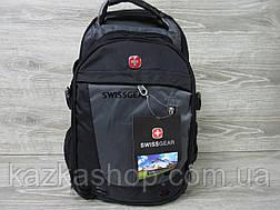 Спортивный, городской рюкзак, отличное качество, аудио-порт, широкие лямки, несколько отделов, фото 2