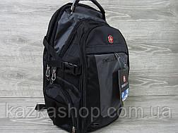 Спортивный, городской рюкзак, отличное качество, аудио-порт, широкие лямки, несколько отделов, фото 3