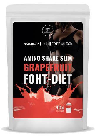 Енергетичний напій Amino Shake Slim - ГРЕЙПФРУТ, фото 2