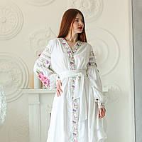 """Жіноче вишите плаття """"Нетін"""" (Женское вышитое платье """"Нетин"""") PJ-0015"""
