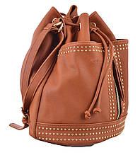 Сумка - рюкзак YES, рудий, 30*27*15.5