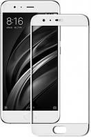 Защитное Стекло Full GLUE 2.5D Xiaomi Mi 6 (Белый)