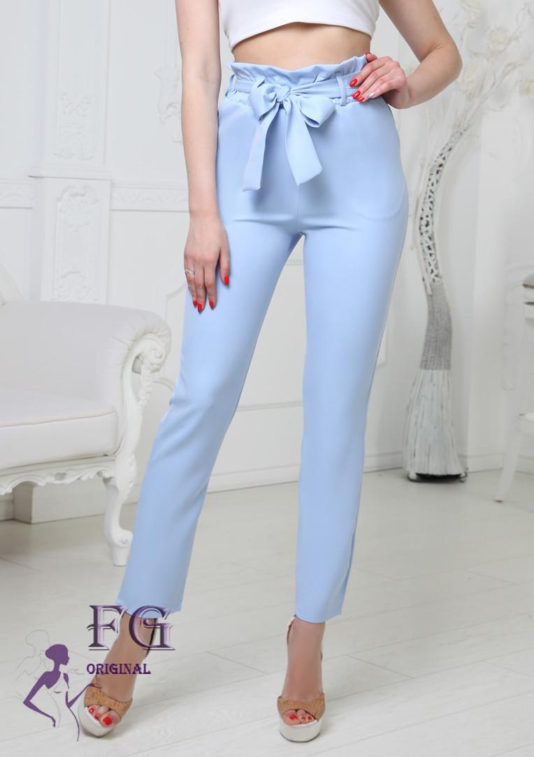 Женские брюки с высокой талией Панни