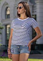 Женская футболка с карманом Believe, фото 1