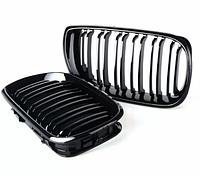 Решётка решетки решетка радиатора ноздри в М-стиле для BMW E46 LCI бмв е46
