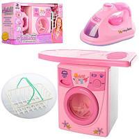 Детский игровой набор для девочки, Набор бытовой техники, игрушечная стиральная машина 2028A
