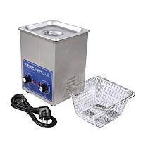 Ультразвукова ванна Jeken PS-08 1.3 л, 70Вт, металевий корпус (40кГц, підігрів до 80℃, таймер 1-30хв.)