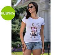 Модная футболка с рисунком Mama of Drama