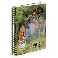Блокнот Sketchbook Алиса и кот А5 (BDP_17A017)