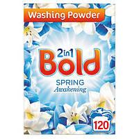 Порошок для стирки Bold Spring лотос 2 in 1 120 стирок.