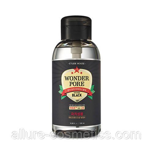 Тоник для очищения пор Etude House Wonder Pore Freshner toner Black