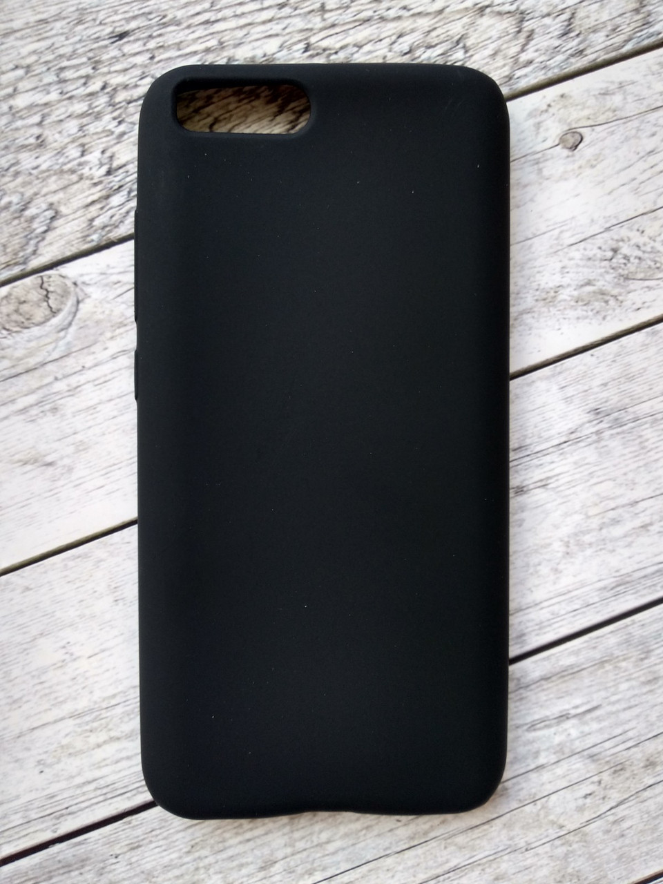 Чехол Xiaomi Redmi 6 Silicon Rock Matte black