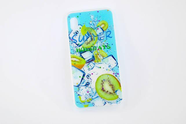 Чехол для Xiaomi Redmi 6 Silicone Summer Fruit Kiwi, фото 2