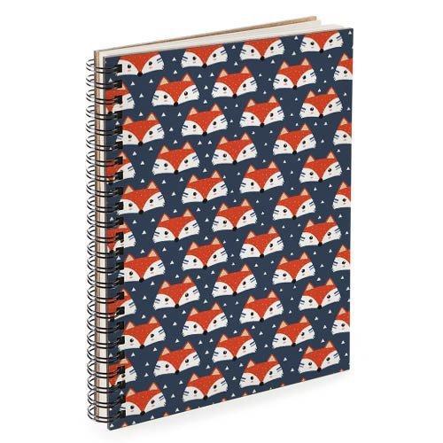 Блокнот Sketchbook Лиса А5 (BDP_17A003)