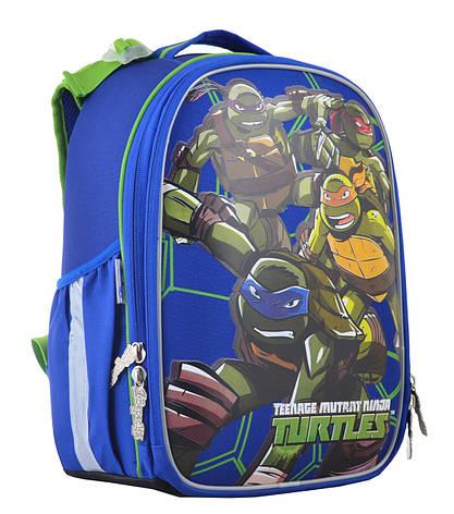 Рюкзак школьный каркасный 1 Вересня H-25 Ninja Turtles, 35*26*16                          , фото 2