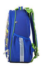 Рюкзак школьный каркасный 1 Вересня H-25 Ninja Turtles, 35*26*16                          , фото 3