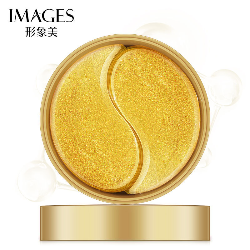 Гидрогелевые патчи под глаза с частицами золота Images Gold Lady Series Eye Mask (80г/60шт), фото 1