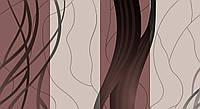 Обои влагостойкие мойка Стрим 140-01 коричневый