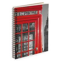 Блокнот Sketchbook London А5 (BDP_17A001)