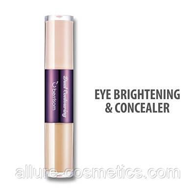 Консилер для кожи вокруг глаз 2 в 1 BERRISOM Oops Dual Contouring 02. Eye Brightener & Concealer