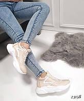 Кроссовки с стиле Баленсиага пудра 36-40