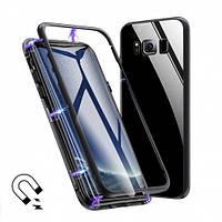 Магнитный чехол накладка для Iphone XR Черный
