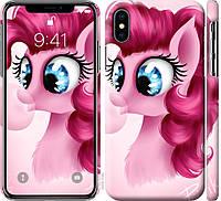"""Чехол на iPhone X Pinkie Pie v3 """"3549c-1050-24298"""""""