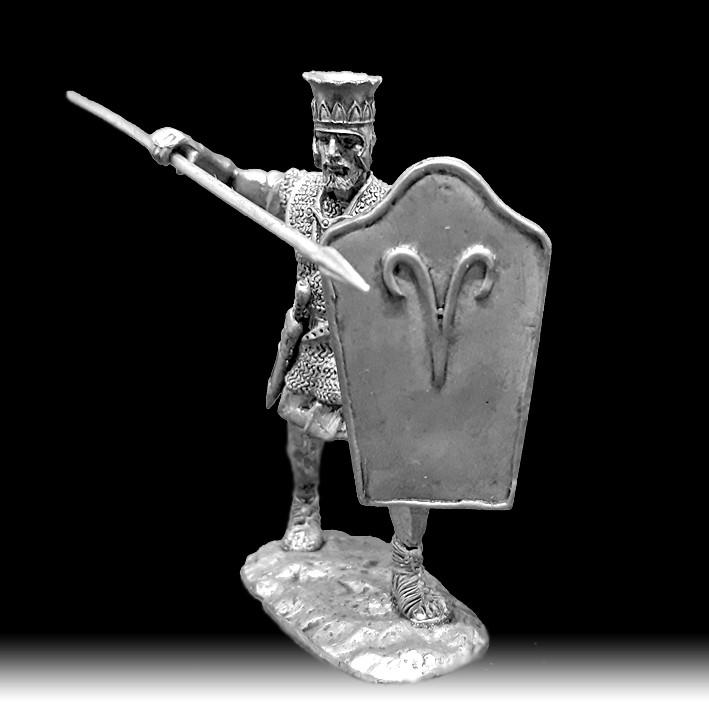 Пехотинец периода ХІІ династии, ХХ-ХVIII века до н. э.