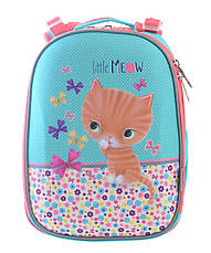 Рюкзак школьный каркасный 1 Вересня H-25 Cat, 35*26*16                                    , фото 2