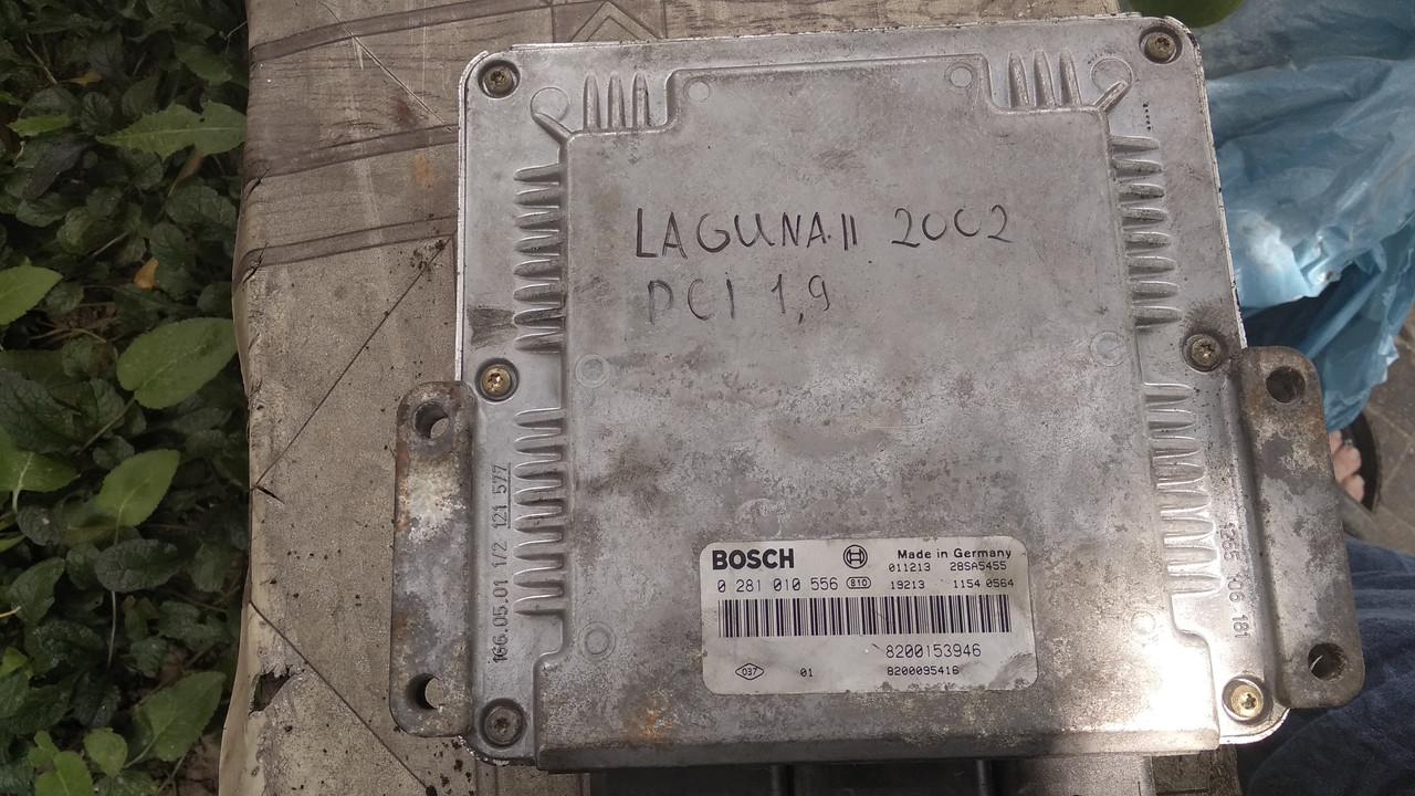 Б/у блок управления двигателем F9Q 1,9 dci с автомобиля Renault Laguna II 2002