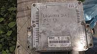 Б/у блок управления двигателем F9Q 1,9 dci с автомобиля Renault Laguna II 2002, фото 1