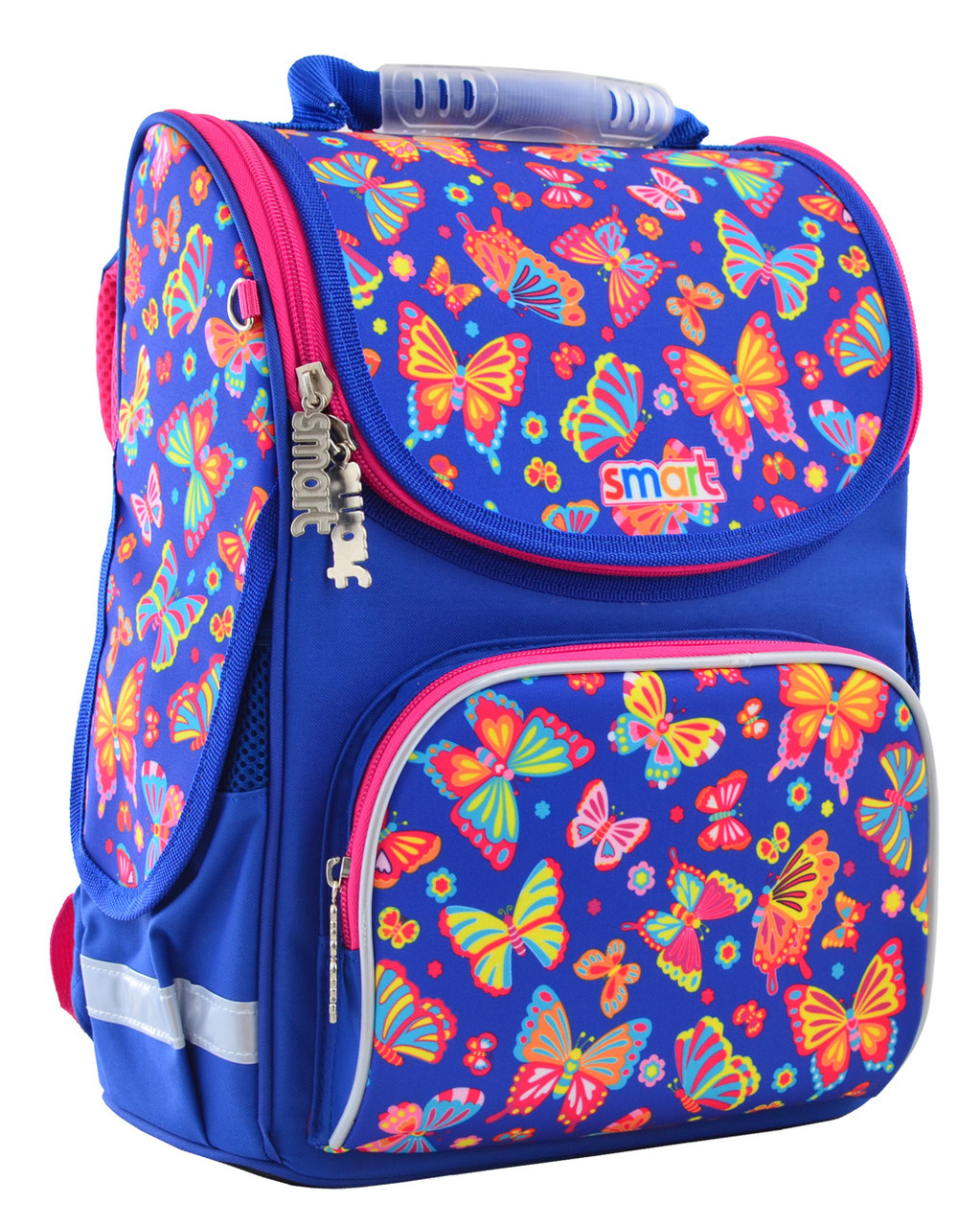 "Рюкзак школьный каркасный Smart PG-11 ""Butterfly dance"""
