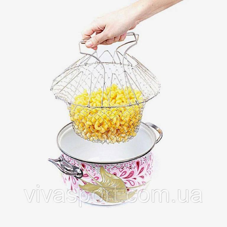 Дуршлаг – корзина Chef Basket, кухонный дуршлаг
